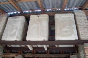Vasche idriche in amianto
